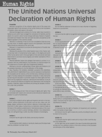 UN Human Rights Act